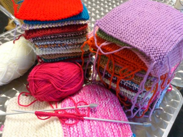 Knitting Blankets For Charity : Knitting for charity angel eden