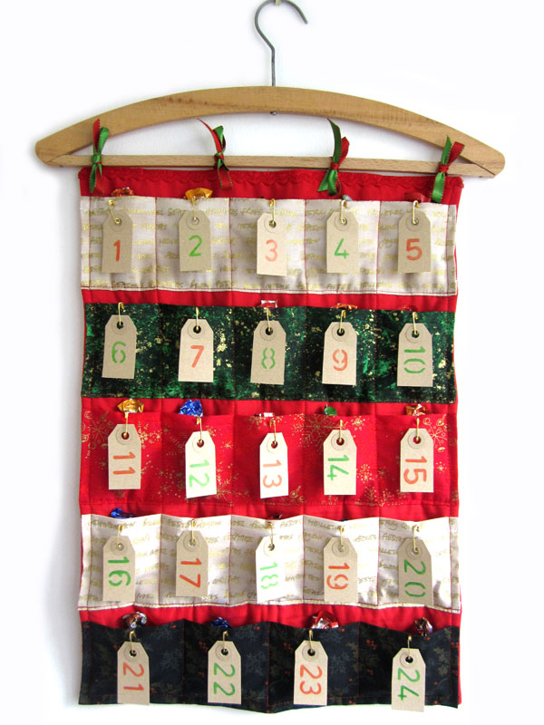 Sewn Advent Calendar Ideas : Advent calendar sewing tutorial angel eden