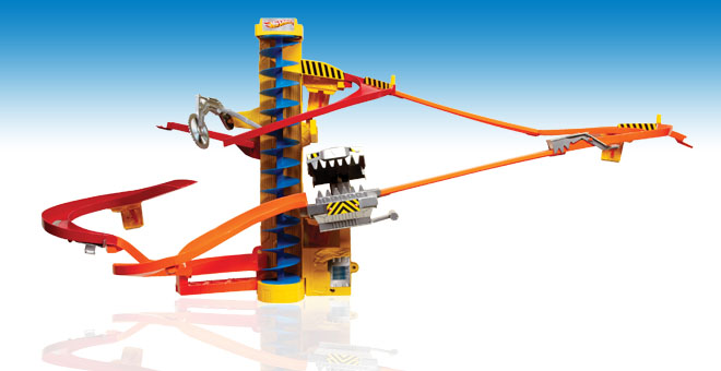 Hot wheels wall track power tower review angel eden blog for Circuit hot wheels mural