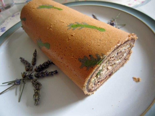 Lavender Chocolate Deco Roll