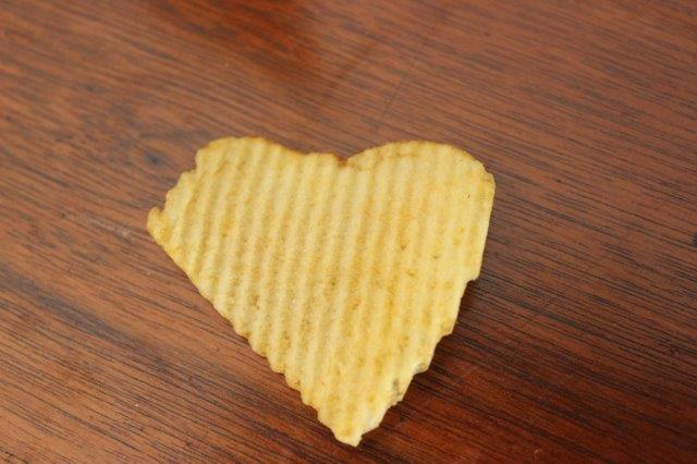 Heart Shaped Crisp