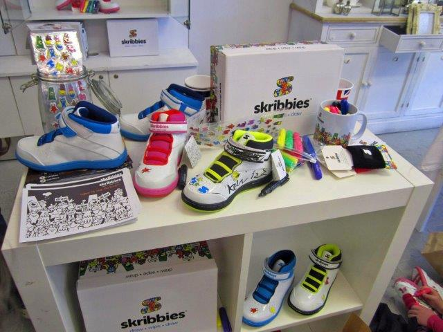 Skribbies Pop Up Shop