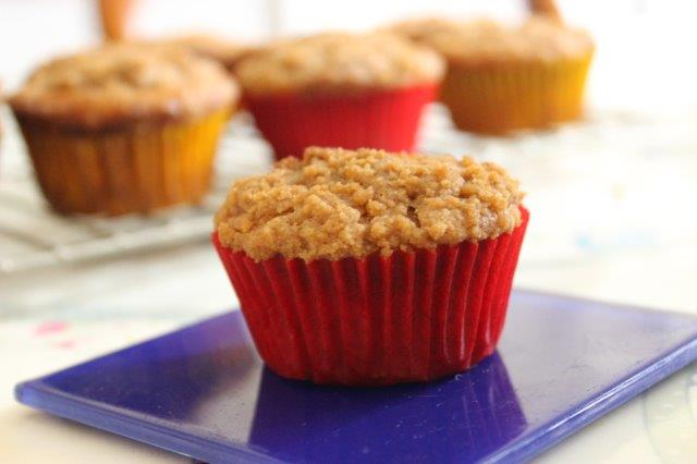Gluten Free Apple Streusel