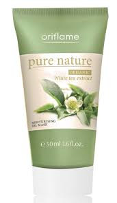 Pure Nature Organic White Tea Extract Moisturizing Gel Mask