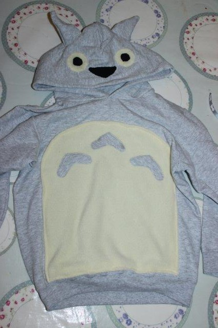 Make your own Totoro Hoodie