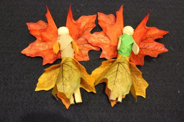 Autumn Peg Fairies