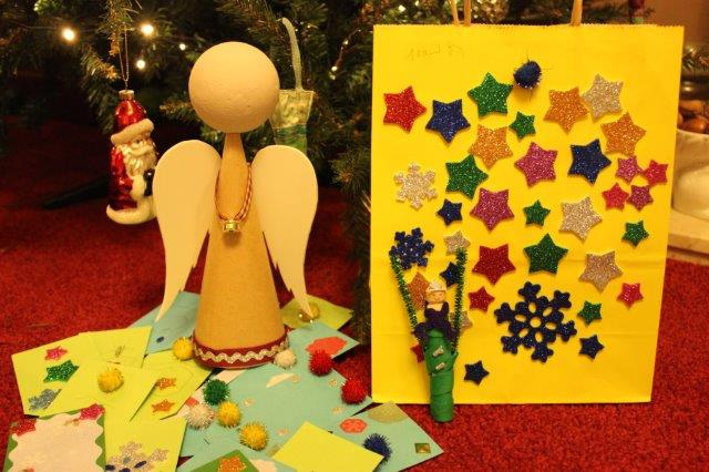 Christmas crafts with Bostik
