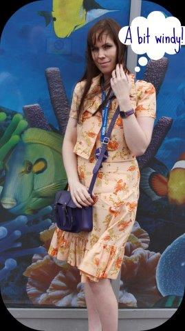 vintage lobster dress