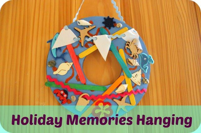 holiday memories craft