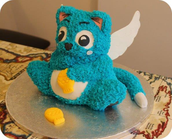Hapy Fairy Tail Cake