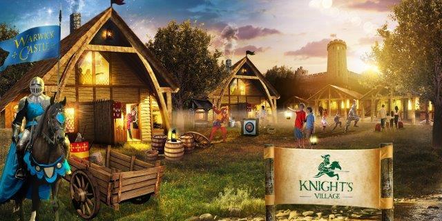 Warwick Castle Knight's Village Key Visual