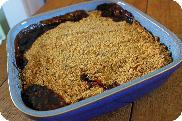 the best gooseberry crumble recipe
