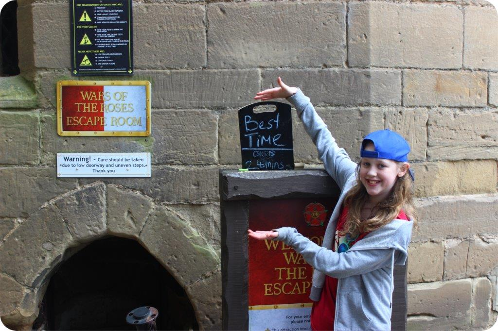 Escape Room Warwick Castle